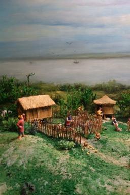 A diorama to shame all dioramas (of ancient Shu life)