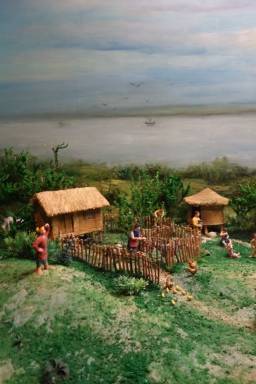 A diorama to shame all dioramas (of ancient Shu life)