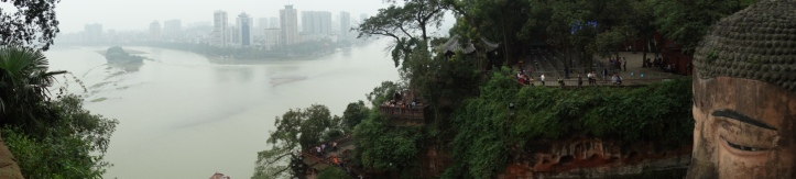 View over Leshan
