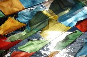 More prayer flags