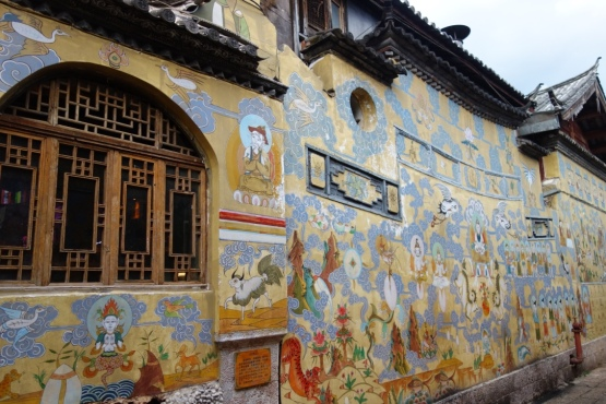 And nice murals.