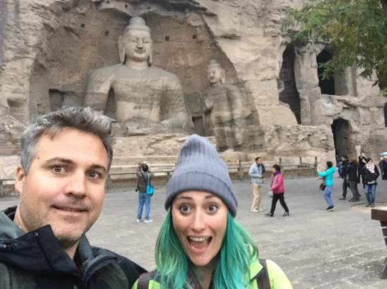 Grotto selfie! You could say it's culturally inappropriate, but 100% of the Chinese visitors were doing it too.