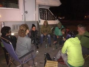 A normal campsite