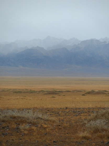 An amazing view of the Gobi