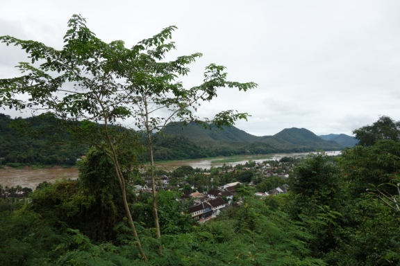 View of the Mekong from Mount Phousi
