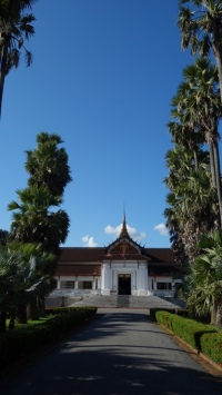 The Royal Palace, now a museum