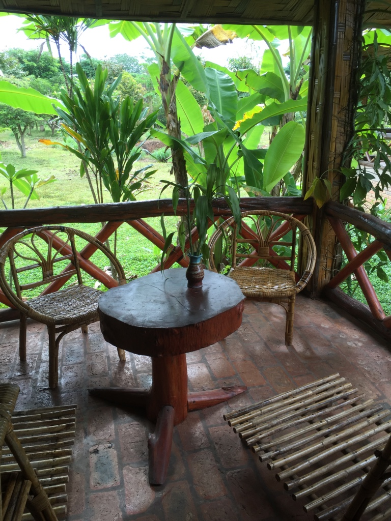 Our bungalow in Luang Namtha
