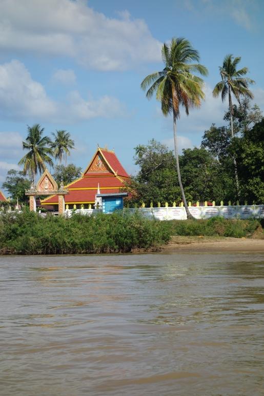 A riverside temple