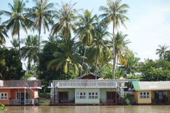 Floating homes, or hotel more likely