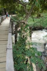 The walk to the big waterfalls