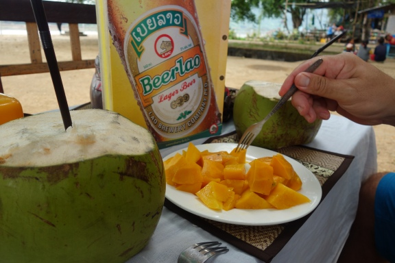 So Laos. Much beer. Very papaya, coconut.