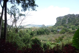 A view of the plains, across which people had to run to get from one cave to another, when needed (for example, from home to school, or to the hospital cave)