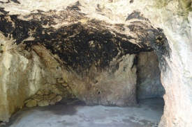 A room ajacent to the hospital cave: the crematorium cave