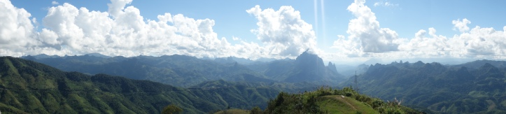 On the road to Phonsavon and Vang Vieng