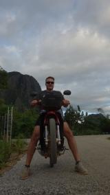 Still on the bike!