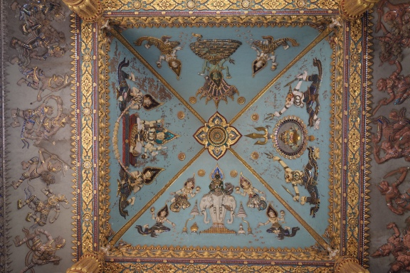 And there's a nice ceiling too.
