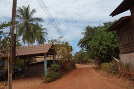 The little village near the cave