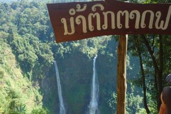 Tad Fan waterfall - two of many.
