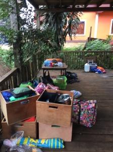 The sorting begins