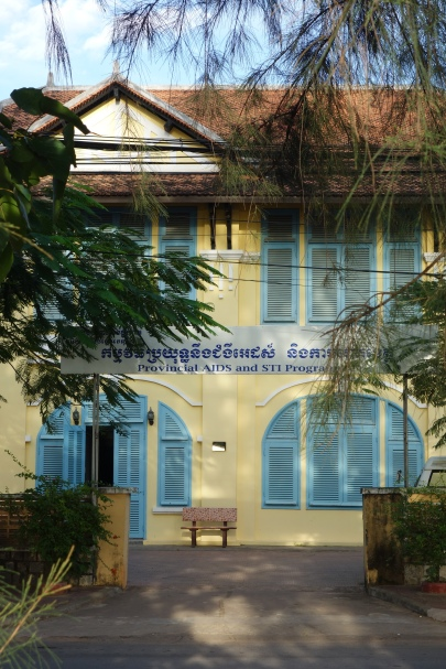 French architecture in Kampot