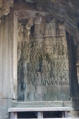 Beautiful carvings in Bayon.