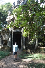 A gate within Angkor Thom