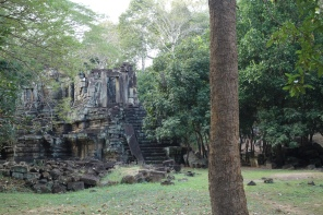 I think this is one of the Preah Pithu temples, which no one goes to.