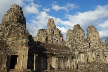Another view of Bayon. You can just make out the faces.
