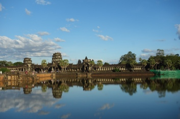 And, here it is: Angkor Wat itself
