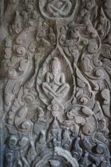 An incredible carcing in Preah Khan