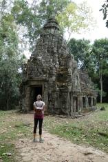 Preah Khan, mini extra temple.