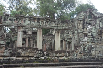 The amazing temple of Preah Khan - it's one of the less visited temples, but it is amazing.