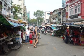 Wandering in an (overpriced) street market