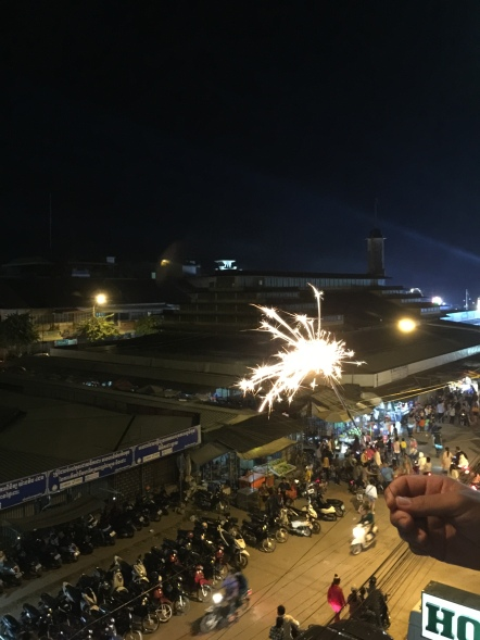 It's not a celebration without sparklers! Here are all those scooters that got ridden home early.