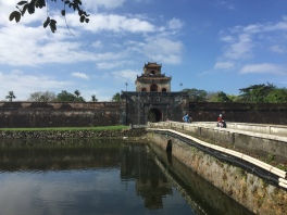 The Citadel in Hue. This was the imperials capital of Vietnam from 1804 to the mid 1900s.