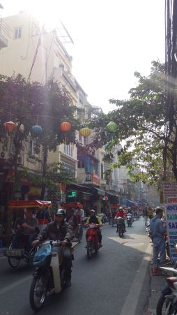 Hanoi is nice, I admit.