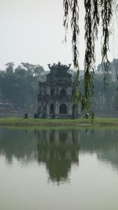 Hanoi is super pretty, though. This is just in the middle of town.