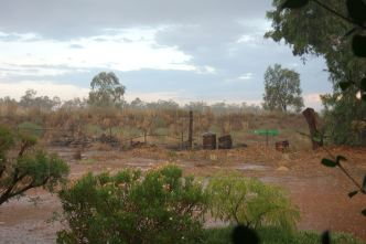 Back in Boggie: a view of the farm that Luke grew up on.