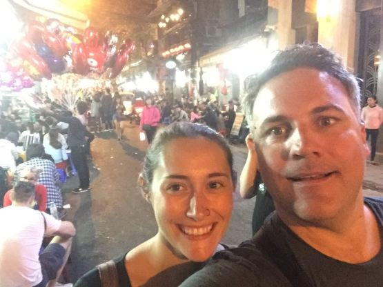 Our last night in Vietnam, meaning, our last night on our epic adventure.